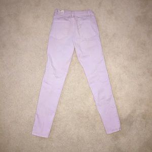 TNA (Aritzia) Bright Purple Jeans Size 00